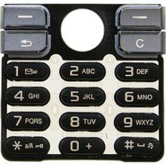 Sony Ericsson K510, Gombsor (billentyűzet), fekete