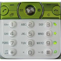 Sony Ericsson K660 als+feső, Gombsor (billentyűzet), zöld
