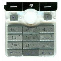 Sony Ericsson K750, Gombsor (billentyűzet), ezüst