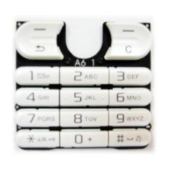 Sony Ericsson W200, Gombsor (billentyűzet), fehér
