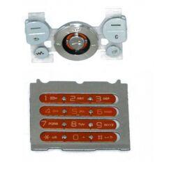 Sony Ericsson W580 alsó+felső, Gombsor (billentyűzet), narancs