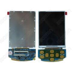Samsung G810, LCD kijelző