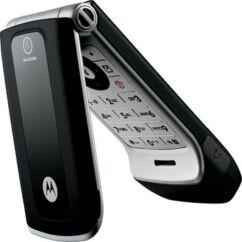 Motorola W375 komplett ház, Előlap, fekete