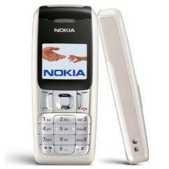 Nokia 2310 elő+akkuf., Előlap, ezüst