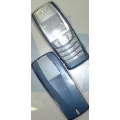 Nokia 6610 elő+akkuf, Előlap, kék