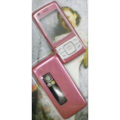 Nokia 6288 elő+akkuf, Előlap, rózsaszín