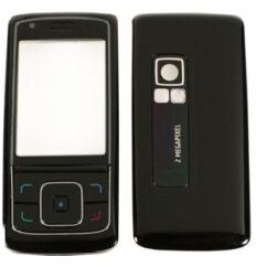 Nokia 6288 elő+akkuf, Előlap, fekete