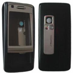 Nokia 6280 elő+akkuf, Előlap, ezüst