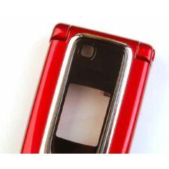 Nokia 6131 komplett ház, Előlap, piros