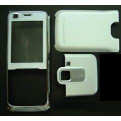 Nokia 6120 Classic elő+akkuf+antf, Előlap, fehér