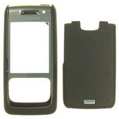 Nokia E65 elő+akkuf, Előlap, fekete