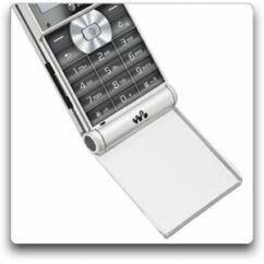 Sony Ericsson W350, Flip, fehér