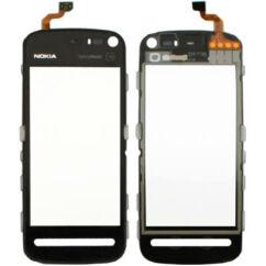 Nokia 5800, Érintőplexi, fekete
