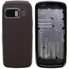 Nokia 5800 komplett ház, Előlap, fekete-piros