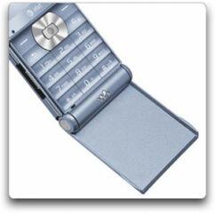 Sony Ericsson W350, Flip, világoskék