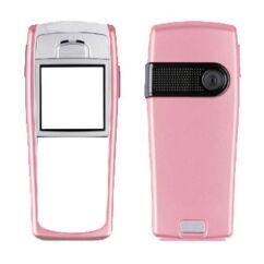Nokia 6230i elő+akkuf, Előlap, rózsaszín