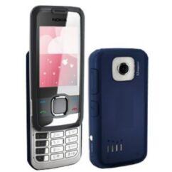 Nokia 7610 Supernova elő+akkuf, Előlap, sötétkék