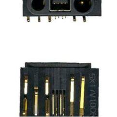 Nokia 1110/1112/1600/2310/2610/2626/6030/6060, Töltőcsatlakozó