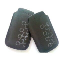 Sony Ericsson K750, Álló bőr tok, fekete