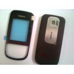 Nokia 3600 Sl elő+akkuf, Előlap, vörösbor