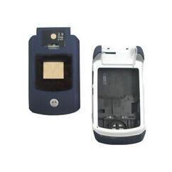 Motorola V3x ház, Előlap, kék