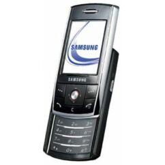 Samsung D800 elő+akkuf+köz, Előlap, fekete-ezüst