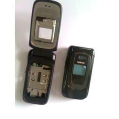 Nokia 6085 elő+akkuf+antf+köz, Előlap, fekete
