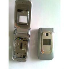 Nokia 6085 elő+akkuf+antf+köz, Előlap, ezüst