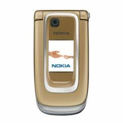 Nokia 6131, Előlap, ezüst-arany