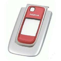 Nokia 6131, Előlap, ezüst-piros