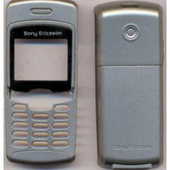 Sony Ericsson T230, Előlap, ezüst-fekete