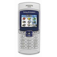 Sony Ericsson T230, Előlap, ezüst-kék