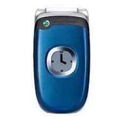 Sony Ericsson Z300, Előlap, kék