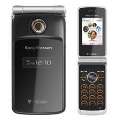 Sony Ericsson TM506, Előlap, fekete