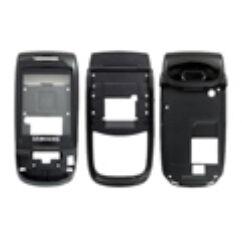 Samsung D500 komplett ház, Előlap, fekete