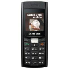 Samsung C180, Előlap, fekete
