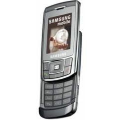 Samsung D900i, Előlap, ezüst