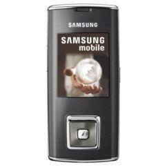 Samsung J600, Előlap, fekete