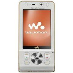 Sony Ericsson W910, Előlap, szürke