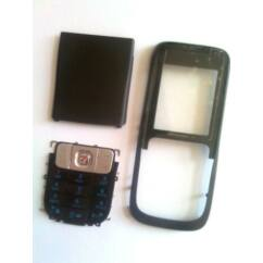Nokia 2630 komplett ház, Előlap, fekete