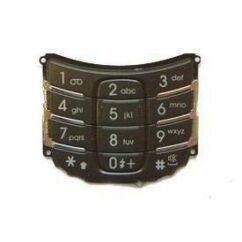 Samsung D500 alsó, Gombsor (billentyűzet), fekete