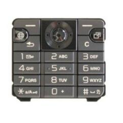 Sony Ericsson K530, Gombsor (billentyűzet), ezüst