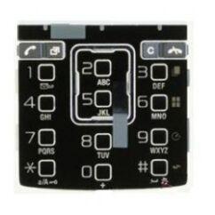 Sony Ericsson K850, Gombsor (billentyűzet), ezüst-fekete