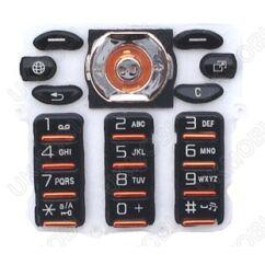 Sony Ericsson W880, Gombsor (billentyűzet), narancs-fekete