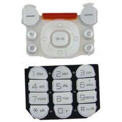 Sony Ericsson W850, Gombsor (billentyűzet), fehér