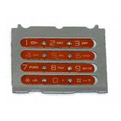 Sony Ericsson W580, Gombsor (billentyűzet), alsó, narancs