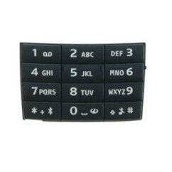 Nokia E66 alsó, Gombsor (billentyűzet), fekete