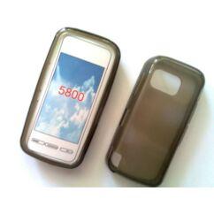 Szilikon tok, Nokia 5800, S-Case - barna