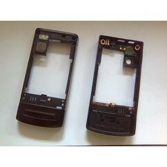 Középső keret, Nokia 6500 Slide, ezüst*