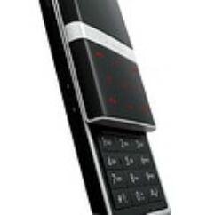 LG KE800 alsó, Billentyűzet panel